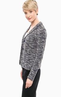 Вязаный пиджак на пуговицах More & More