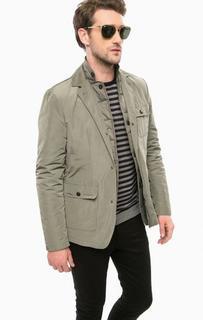 Куртка цвета хаки со съемной подкладкой Marciano Guess