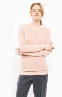 Розовый джемпер с круглым вырезом Ichi