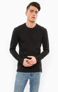 Хлопковая футболка с длинными рукавами Calvin Klein Jeans