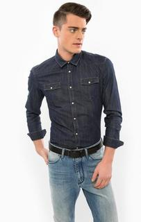 Джинсовая рубашка с длинными рукавами Drykorn