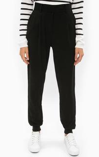 Черные зауженные брюки B.Young