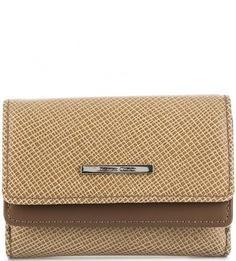 Кожаный кошелек с двумя отделами для купюр Gianni Conti