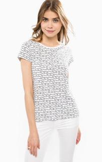 Хлопковая футболка с короткими рукавами Gant