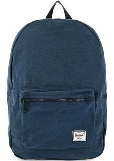 Рюкзак из хлопка синего цвета Herschel