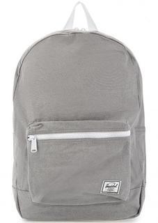 Рюкзак из хлопка серого цвета Herschel
