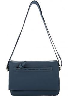 Синяя сумка через плечо Mandarina Duck