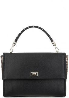 Черная сумка с одним отделом Cavalli Class
