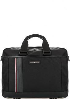 Текстильная сумка с широким плечевым ремнем Tommy Hilfiger