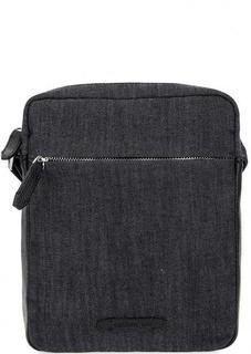 Текстильная сумка с кожаными вставками Cerruti 1881