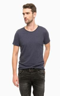 Однотонная хлопковая футболка Cinque