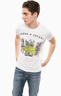 Хлопковая футболка с круглым вырезом Liu Jo Uomo
