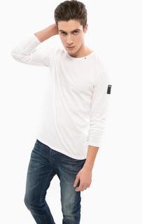 Хлопковая футболка с длинными рукавами Replay