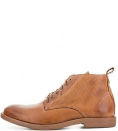 Кожаные ботинки с брелком Nobrand