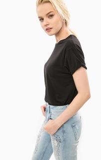 Черная футболка с короткими рукавами Pepe Jeans