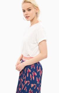 Белая футболка с круглым вырезом Pepe Jeans