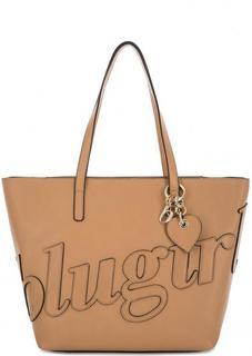 Вместительная сумка в форме трапеции Blugirl