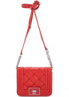 Маленькая красная сумка через плечо Blugirl