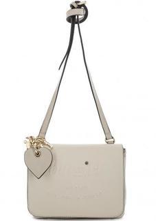 Маленькая бежевая сумка через плечо Blugirl