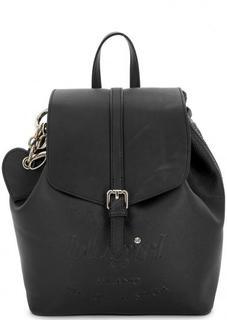Рюкзак черного цвета с одним отделом Blugirl