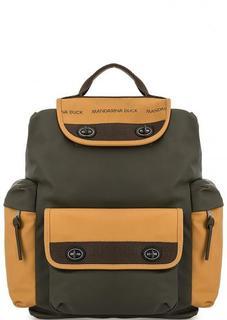 Вместительный рюкзак с широкими лямками Mandarina Duck