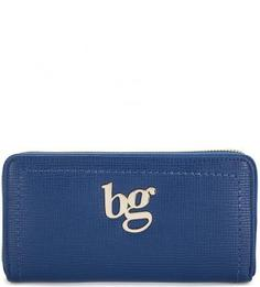 Синий кошелек на молнии Blugirl