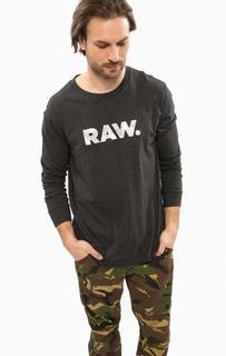 Серая футболка с камуфляжным принтом G Star RAW