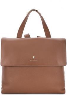 Кожаный рюкзак с откидным клапаном Modalu London