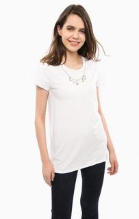 Базовая футболка белого цвета Liu Jo