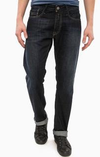 Синие прямые джинсы с застежкой на болты Replay