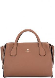 Коричневая сумка из натуральной кожи Modalu London