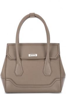 Кожаная сумка с широким плечевым ремнем Modalu London