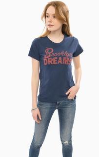 Синяя футболка с короткими рукавами D&S Ralph Lauren