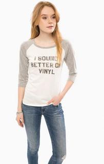Хлопковая футболка с рукавами три четверти D&S Ralph Lauren