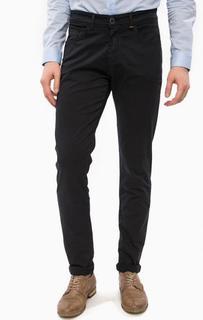 Зауженные синие брюки из хлопка Liu Jo Uomo