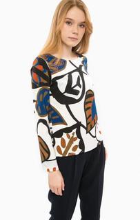 Блуза с длинными рукавами и застежкой на спине Cinque