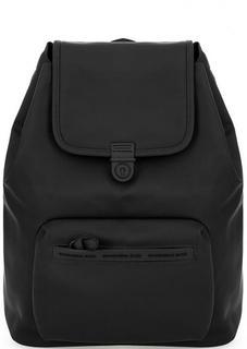 Вместительный рюкзак черного цвета Mandarina Duck