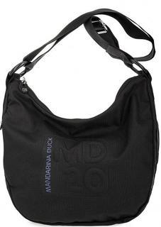 Черная сумка с одним отделом на молнии Mandarina Duck