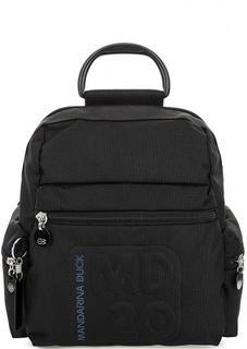 Текстильный рюкзак на молнии Mandarina Duck