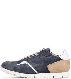 Замшевые кроссовки с перфорацией Nobrand
