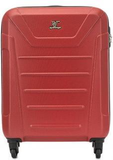 Красный ударопрочный чемодан Verage