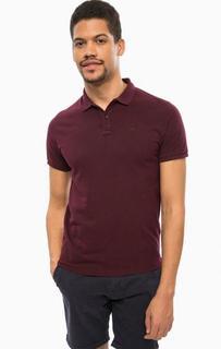 Фиолетовая футболка поло с короткими рукавами Scotch&Soda