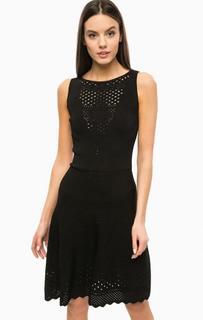 Черное платье без рукавов Marciano Guess