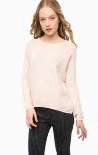 Однотонный свитер с круглым вырезом Rich&Royal