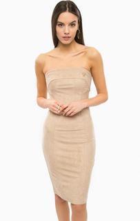 Коктейльное платье с открытыми плечами Marciano Guess