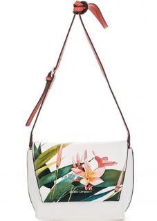 Кожаная сумка через плечо с одним отделом Fiato Dream