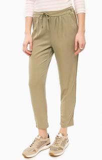 Укороченные брюки цвета хаки Rich&Royal