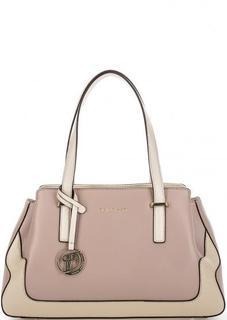 Розовая сумка из натуральной кожи Fiato Dream