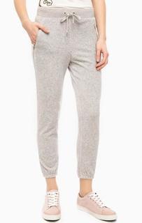 Серые хлопковые брюки Juicy Couture