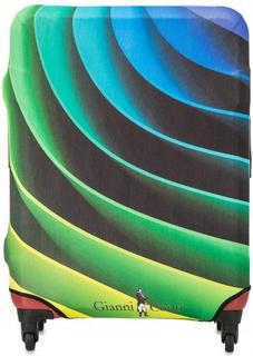 Разноцветный чехол на чемодан Gianni Conti